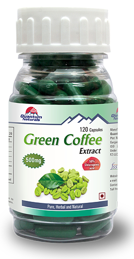 Green Coffee Bean Capsules Dosage Green Coffee Extract For